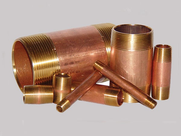 Copper Nickel 90/10 Pipe Nipple