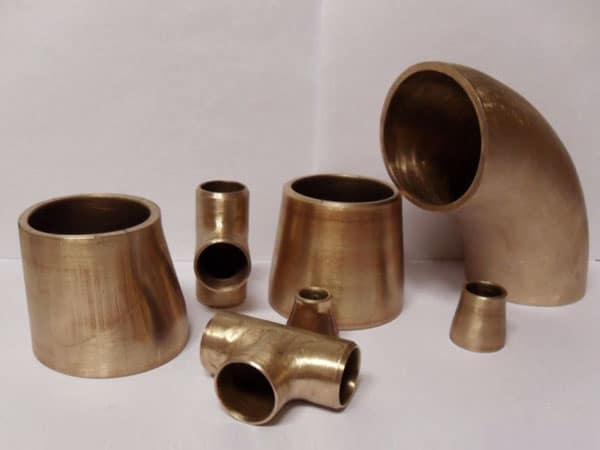 Copper Nickel 90/10 Seamless Pipe Fittings