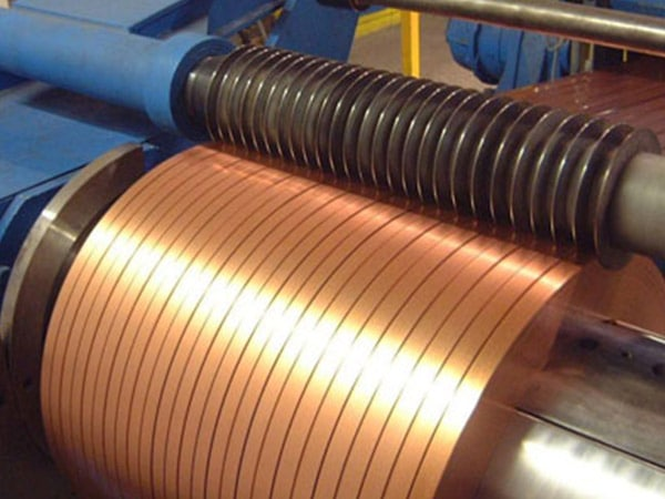 Copper Nickel 90/10 Slitting Coils