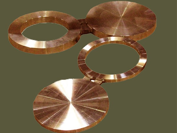 Copper Nickel 70/30 Spectacle blind flanges