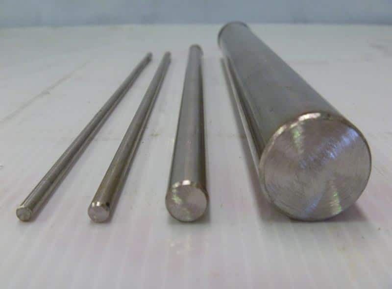 Nickel Round Bar