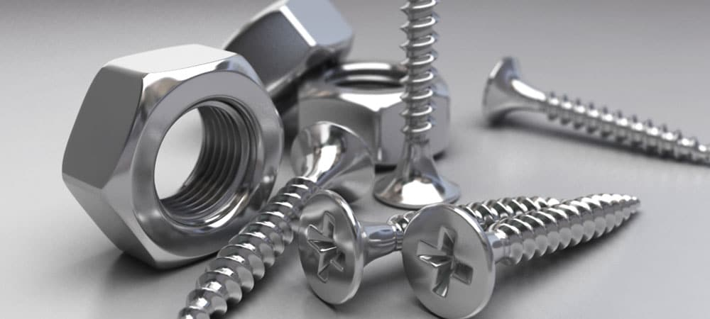 Stainless Steel 316Ti Fasteners