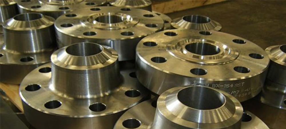 Manufacturers & Suppliers of ASTM B381 Titanium Gr 2 Flanges, UNS